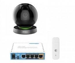 3G комплект видеонаблюдения с IP камерой IMOU Ranger Pro (Dahua IPC-A26HP)
