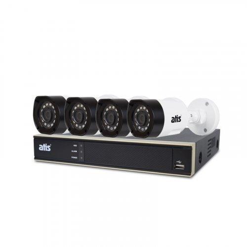 AHD комплект видеонаблюдения ATIS kit 4ext 2MP