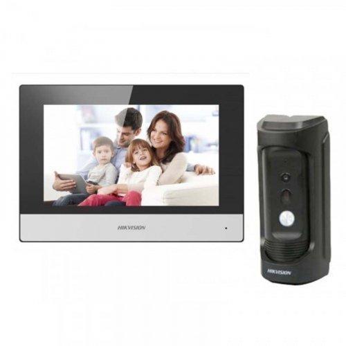 Комплект домофона  Hikvision DS-KH6320-TE1 и Hikvision DS-KB8112-IM