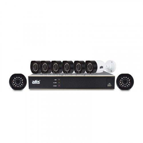 AHD комплект видеонаблюдения ATIS kit 8ext 2MP