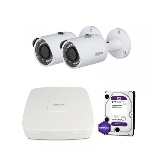 HDCVI комплект видеонаблюдения Dahua CVI-2M-2OUT-Lite-M