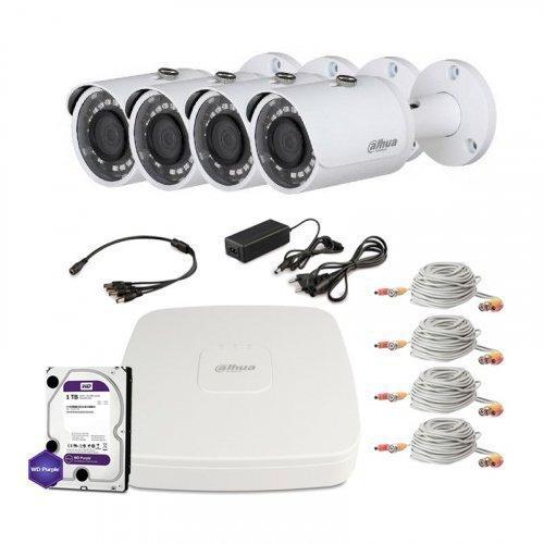 HDCVI комплект видеонаблюдения Dahua CVI-2M-4OUT-Lite-M-Full