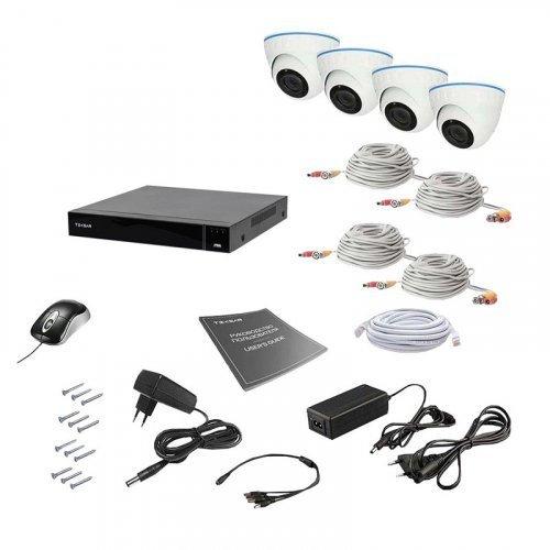 AHD комплект видеонаблюдения Tecsar AHD 4IN 8MEGA