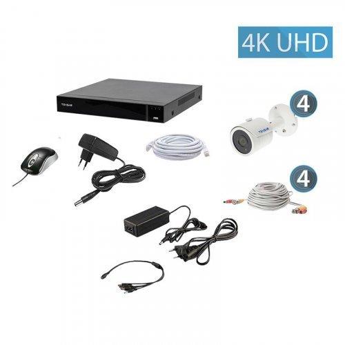 AHD комплект видеонаблюдения Tecsar AHD QHD 8MP4CAM