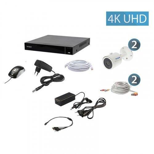 AHD комплект видеонаблюдения Tecsar QHD 8MP2CAM