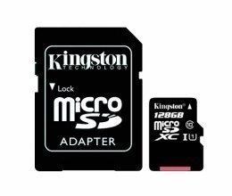 Карта памяти Kingston MicroSD 128Gb