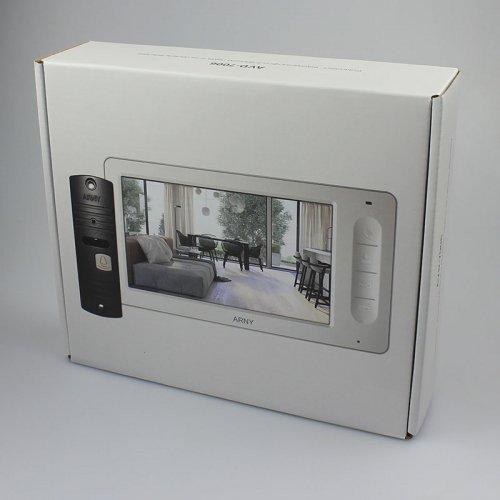 Комплект домофона  ARNY AVD-7006 Черный \ Медный