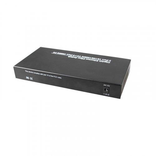 Медиаконвертор HONGRUI HR900WS-2G8GE