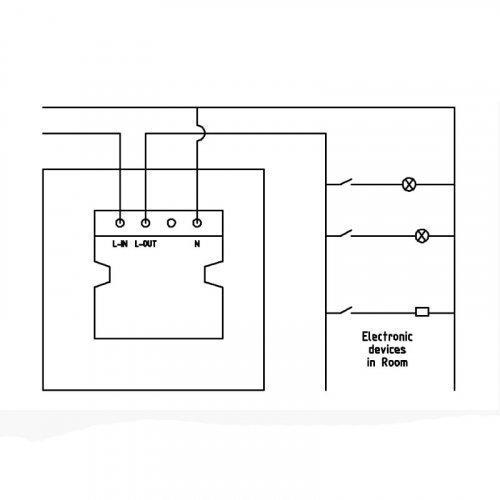 Энергосберегающий карман для гостиниц SEVEN Lock P-7751