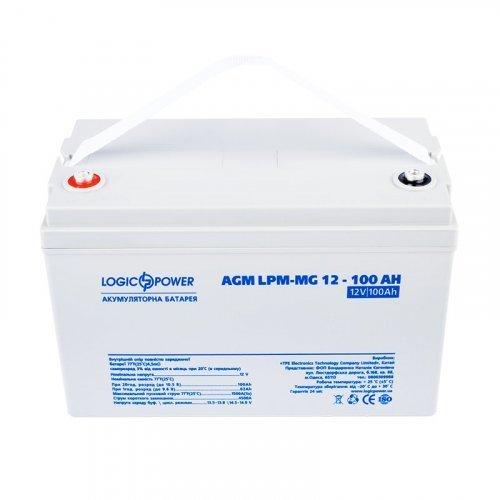 LogicPower AGM LPM-MG 12 - 100 AH