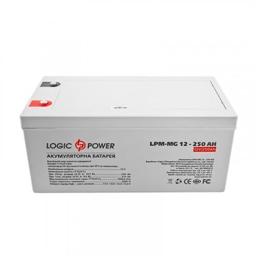 LogicPower AGM LPM-MG 12 - 250 AH