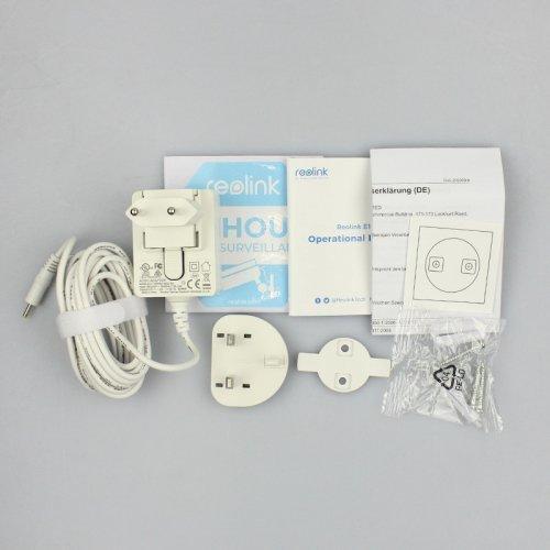 Поворотная беспроводная Wi-Fi IP Камера Reolink E1 Pro