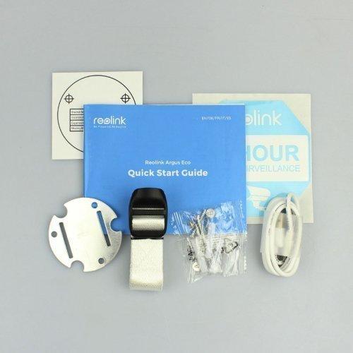 Аккумуляторная беспроводная Wi-Fi IP Камера Reolink Argus Eco