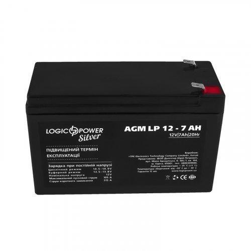 LogicPower AGM LP 12 - 7,0 AH SILVER