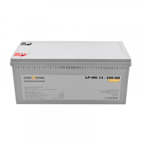 LogicPower AGM LP-MG 12 - 200 AH SILVER