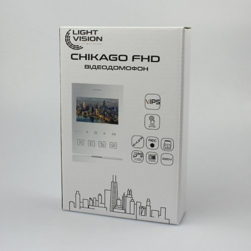 Видеодомофон LightVision CHICAGO White