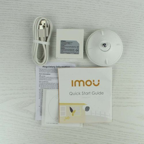 Распродажа! Wi-Fi IP Камера на батарейках IMOU Cell Pro (KIT-WA1001-300/1-B26EP)