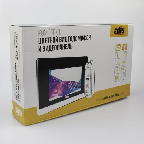 Комплект домофона ATIS AD-480 W Kit box