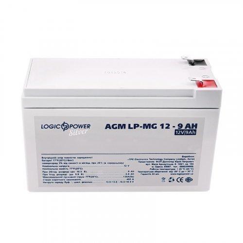 LogicPower LP-MG 12 - 9 AH SILVER