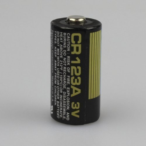 Батарейка Panasonic CR123A Lithium 3V