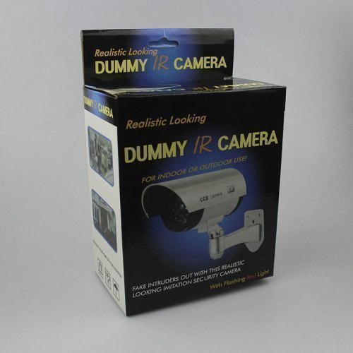 Муляж наружной камеры DUMMY IR, Silver, Q50