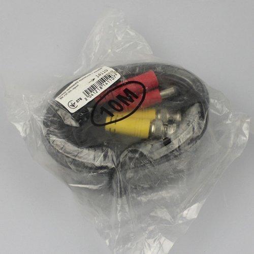 Кабель для передачи видео и питания BNC + DC 10 м