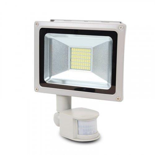 LED-прожектор Lightwell LW-30W-220PIR с датчиком движения