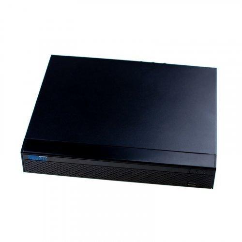 16 камер до 5МР. Запись: 5MP/4MP/3MP/1080P - 30к/c. Компрессия H.265+ (HEVC)/H.264+. Видеовыходы: HDMI, VGA Воспроизведение: до 4 каналов. HDD SATA x 1 (до 8ТБ) Onvif 2.8.
