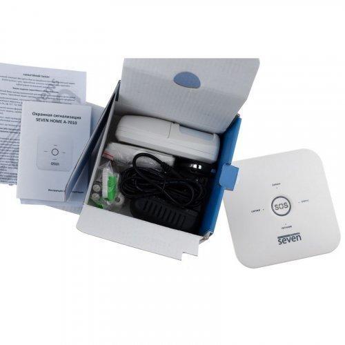 Умная Wi-Fi GSM сигнализация SEVEN HOME A-7010