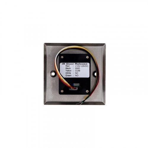 Кнопка выхода бесконтактная металлическая врезная SEVEN K-789