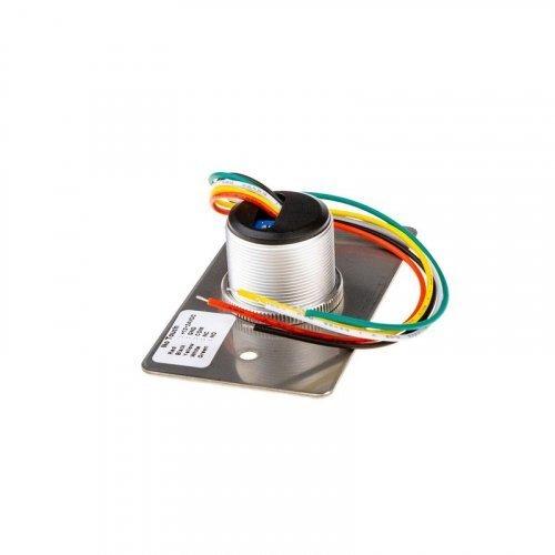 Кнопка выхода бесконтактная металлическая врезная SEVEN K-7490N