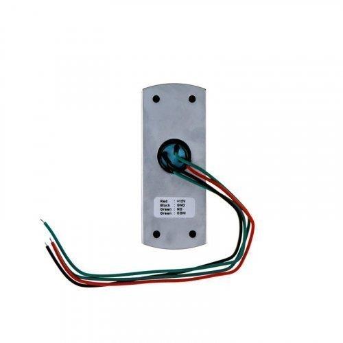 Кнопка выхода металлическая накладная с подсветкой SEVEN K-782