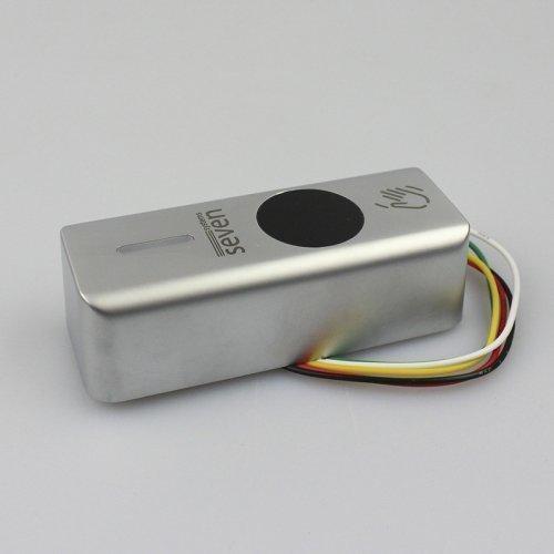 Кнопка выхода бесконтактная металлическая накладная SEVEN K-7497ND