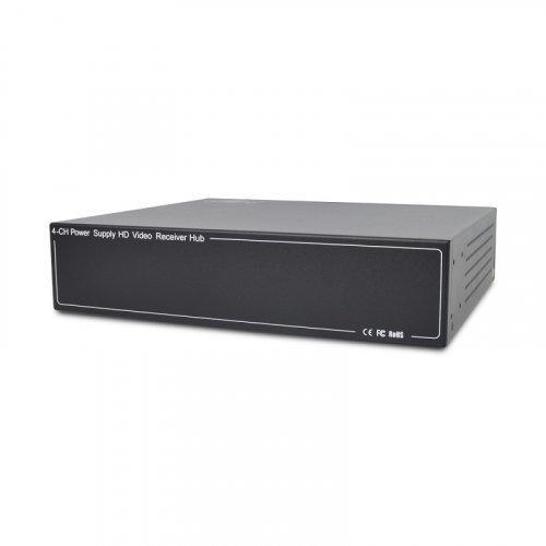 Активный 4-канальный приемник ATIS AL-1204 UHD видеосигнала и питания по UTP