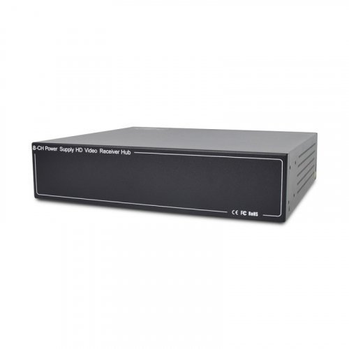 Активный 8-канальный приемник ATIS AL-1208 UHD видеосигнала и питания по UTP