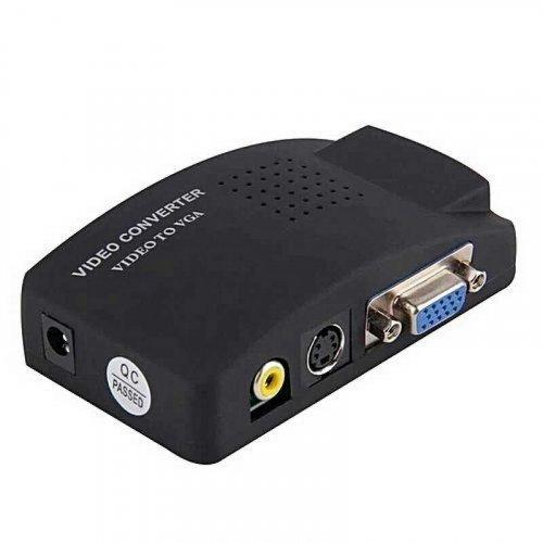 Конвертер видеосигнала ATIS AV-VGA