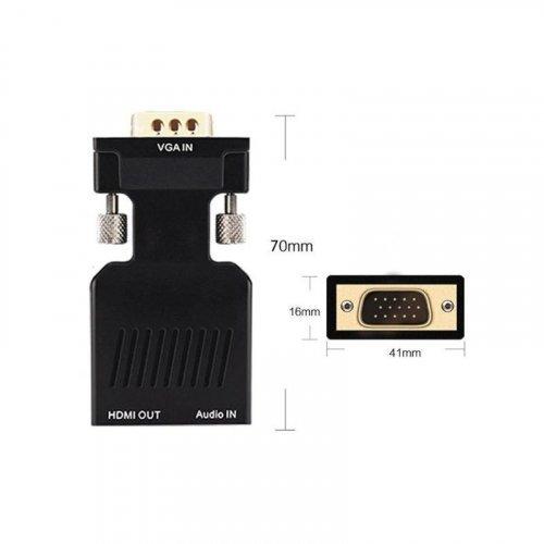 Конвертер видеосигнала ATIS VGA-HDMI-C
