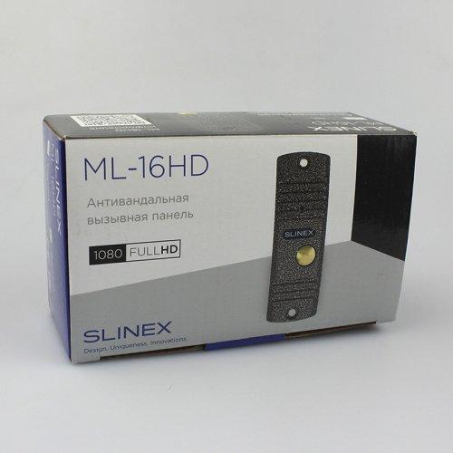 Распродажа! Вызывная панель Slinex ML-16HD Black