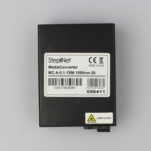 Медиаконвертер Step4Net MC-A-0,1-1SM-1550nm