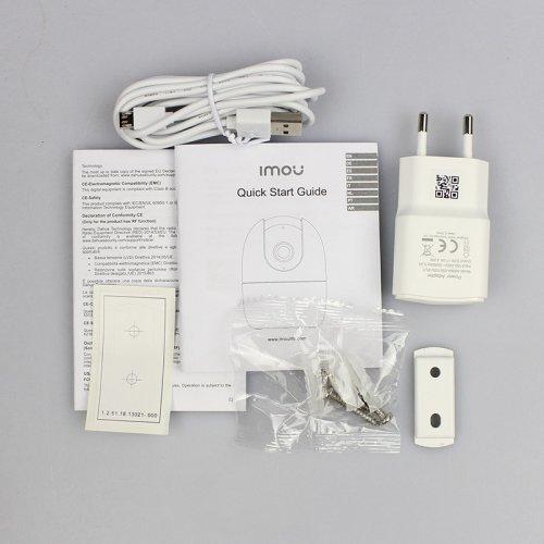 4 Мп поворотная Wi-Fi IP-видеокамера IMOU Ranger 2 (IPC-A42P-B)