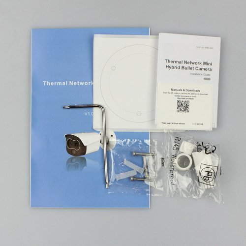 Цилиндрическая тепловизионная IP-видеокамера Dahua DH-TPC-BF1241