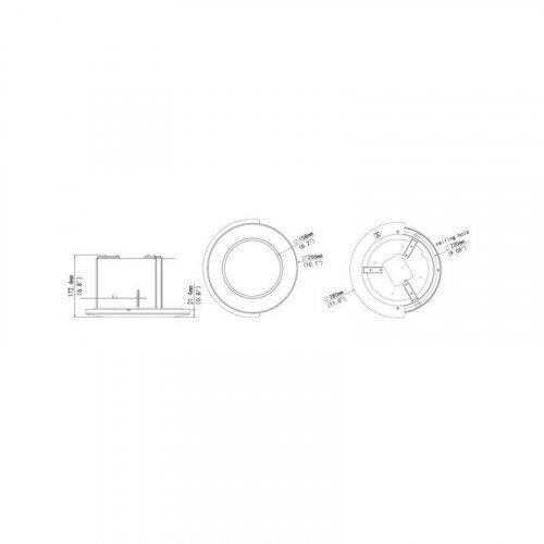 Монтажный адаптер для камеры Uniview TR-FM200-IN