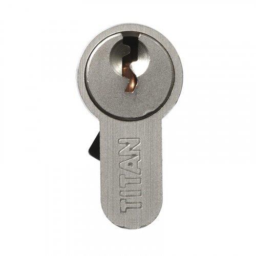 Цилиндр TITAN K1 A-профиль с универсальным профилем ключа