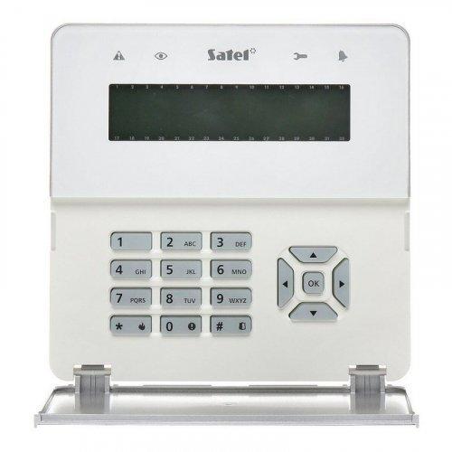 Клавиатура со считывателем карт Satel INT-KLFR-WSW