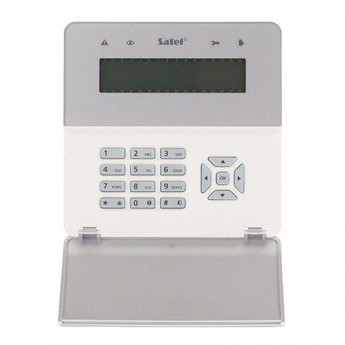 Клавиатура со считывателем карт Satel INT-KLFR-SSW
