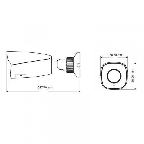 IP видеокамера TVT TD-9422S3 (D / FZ / PE / IAR3)