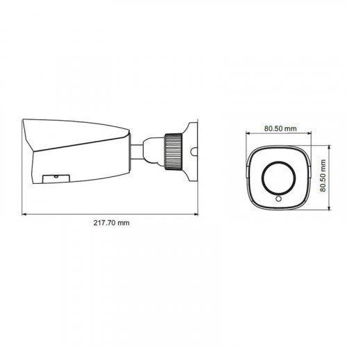 IP видеокамера TVT TD-9452S3A (D / AZ / PE / AR3)