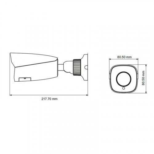 TD-9IP видеокамера TVT TD-9452E2A (D / PE / AR3)452E2A (D / PE / AR3) IP-видеокамера