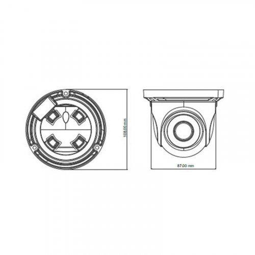 IP видеокамера TVT TD-9524S1H (D / PE / AR2)