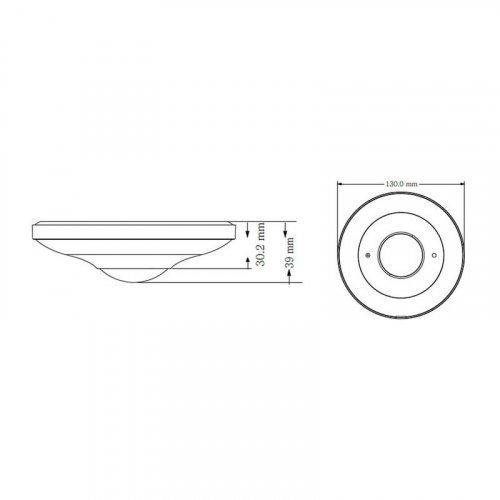IP видеокамера TVT TD-9568E2 (D / PE / AR2) FISHEYE